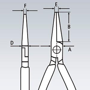 Плоскогубцы захватные для точной механики KNIPEX