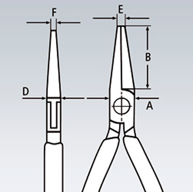 Плоскогубцы захватные для электроники KNIPEX