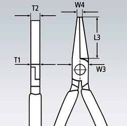Плоскогубцы модель