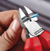 Кусачки боковые электроизолированные для удаления изоляции KNIPEX 14 26 160 KN-1426160