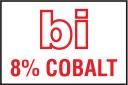 8% cobalt