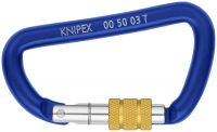 Карабины KNIPEX 00 50 03T BK KN-005003TBK